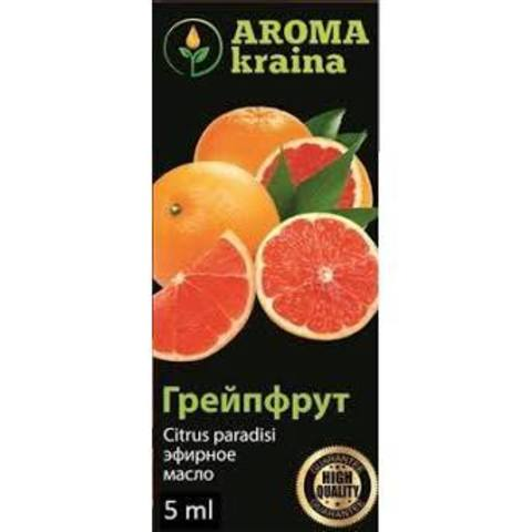 Масло грейпфрута 5 мл., Aroma Kraina