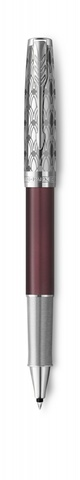Ручка-роллер Parker Sonnet Premium Refresh RED, цвет чернил Fblack,  в подарочной упаковке123