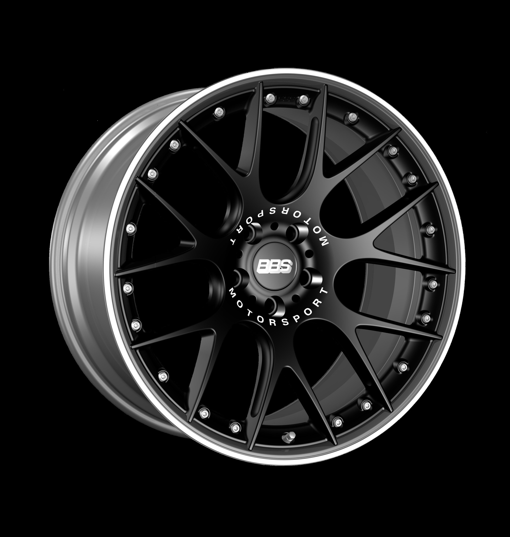 Диск колесный BBS CH-R II 10x22 5x120 ET38 CB72.5 satin black
