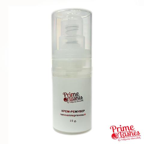 Крем-ремувер Prime Lashes гипоаллергенный в помпе 15г.