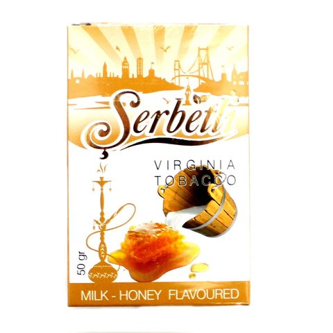 Табак для кальяна Serbetli Milk honey 50 гр.