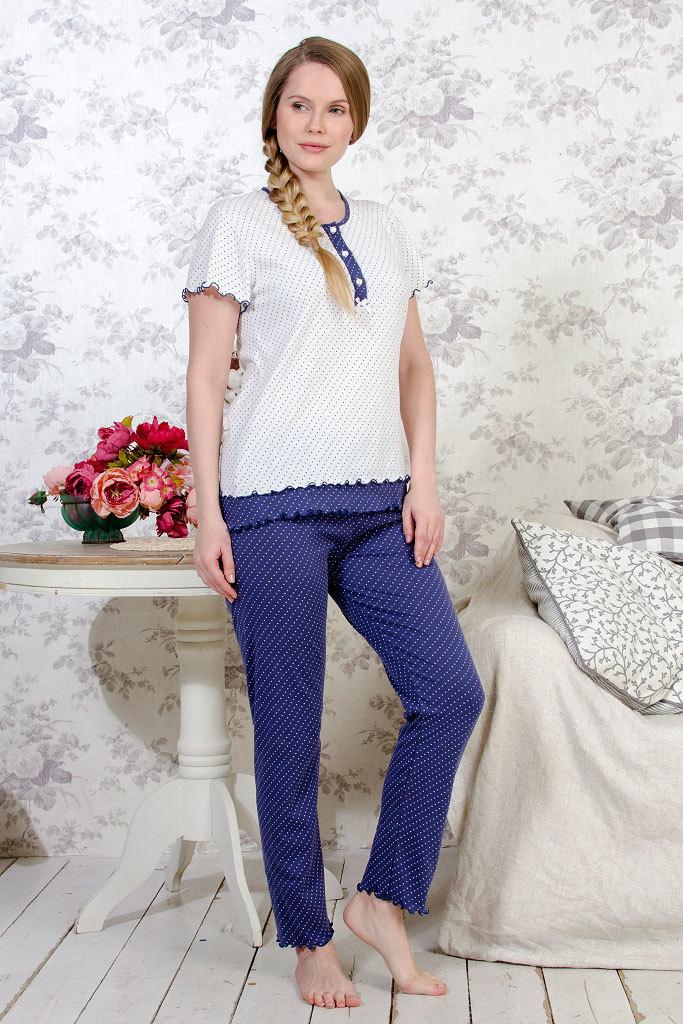 Женская пижама с коротким рукавом B&B