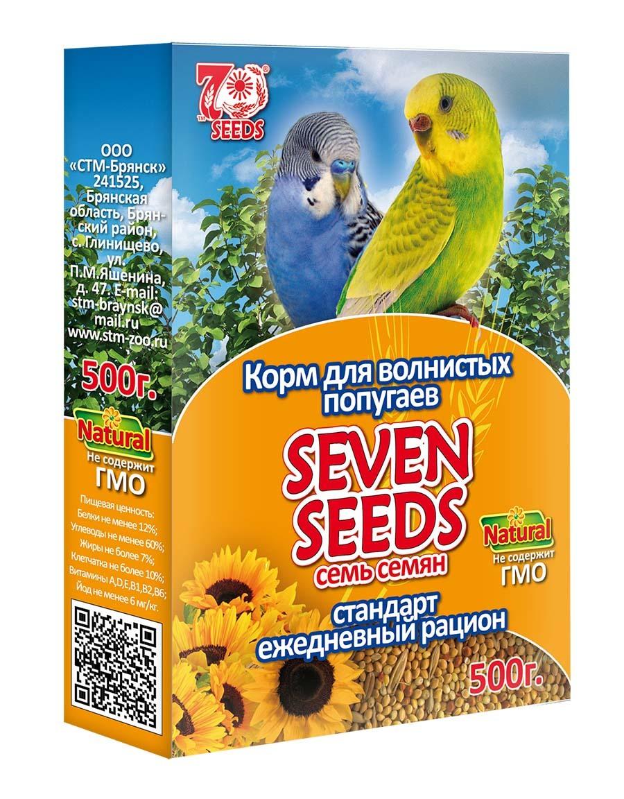 Корм Корм для волнистых попугаев стандарт Seven Seeds 40.jpg