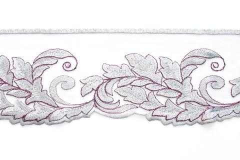 Кружево серебро,11,5 см