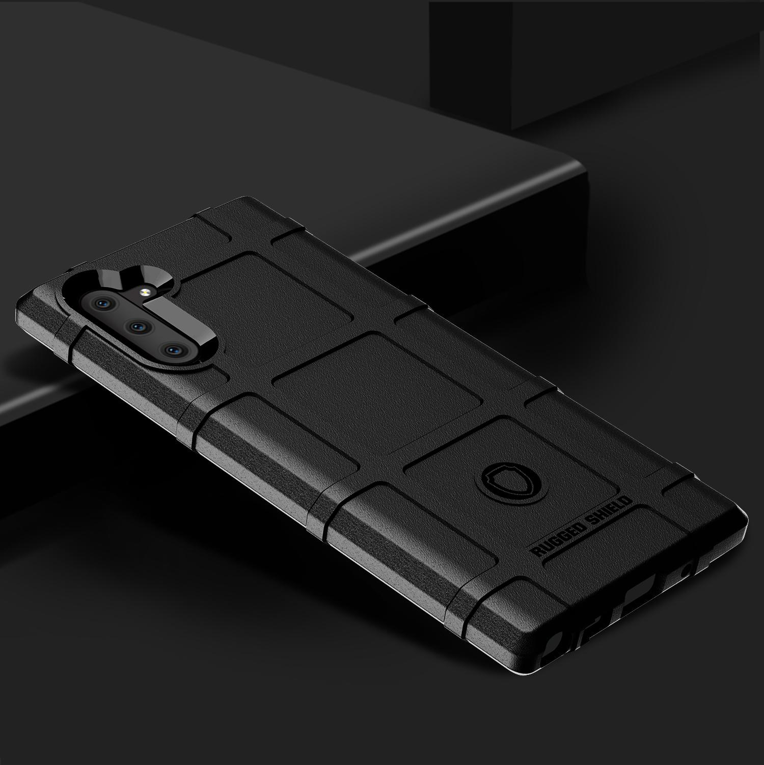 Чехол Samsung Galaxy Note 10 цвет Black (черный), серия Armor, Caseport