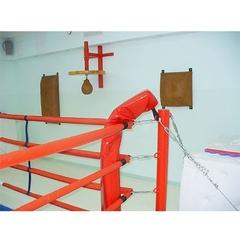 Ринг боксерский, напольный на растяжках 6х6м.