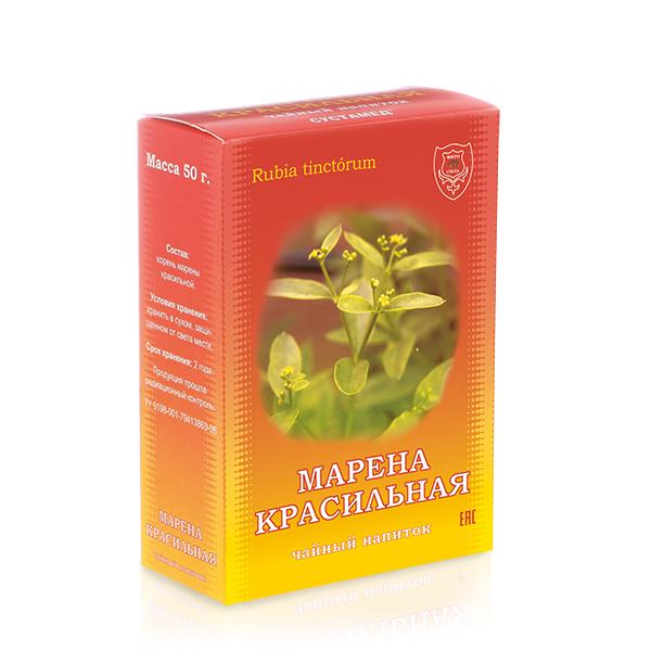 Марена Красильная чайный напиток, 50 г, коробочка