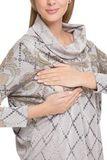 Туника для беременных и кормящих 08052 бежевый