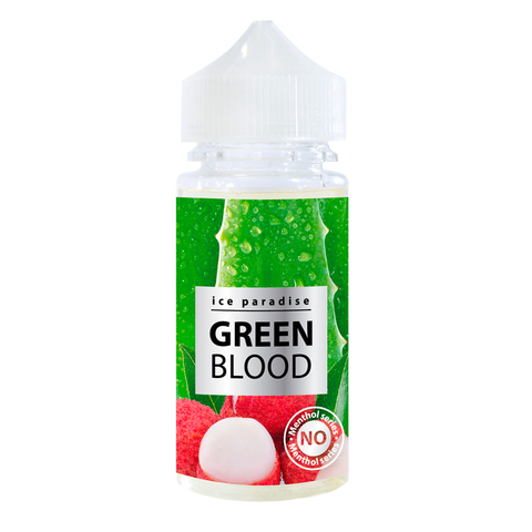 Жидкость Ice Paradise 100 мл Green Blood No Menthol