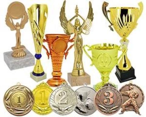 Купить наградные спортивные медали, кубки, статуэтки