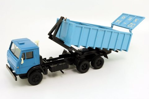 KAMAZ-53212 grain carrier workshop MP-43 (Yekaterinburg) 1993 Elecon Arek 1:43