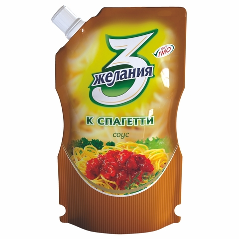 Соус 3 ЖЕЛАНИЯ К спагетти 250 гр ДПДЗ КАЗАХСТАН