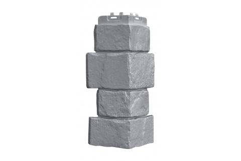 Наружные углы к фасадным панелям GRAND LINE Крупный камень Стандарт  Известняк