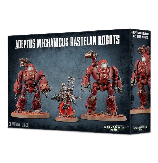 Adeptus Mechanicus Kastelan Robots. Коробка