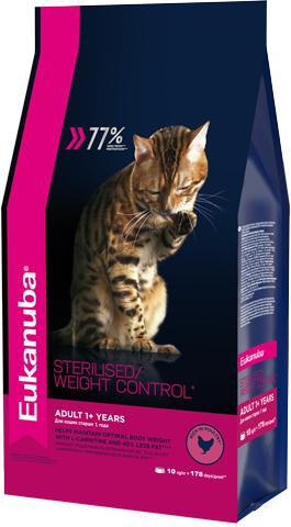 Eukanuba Корм для взрослых кошек, Eukanuba Cat ADULT STERILIZED WC, с избыточным весом и стерилизованных 5e95ec52-73e9-11e5-80d6-00155d298300.jpg