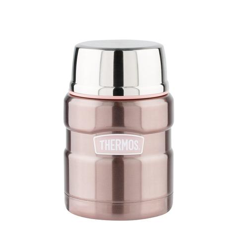 Термос для еды Thermos King SK3000 Pink (0,47 литра), розовый