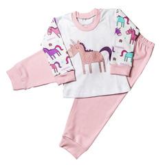 Пижама детская (свитшот+брюки) купить в ассортименте