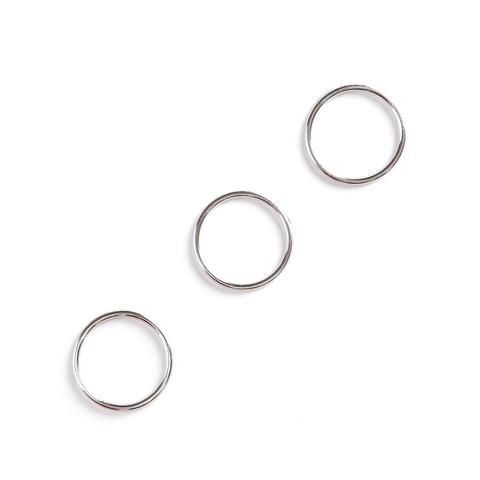 Кольцо для бретели никель 20 мм