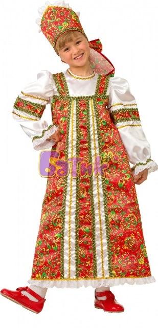 Народный карнавальный костюм Аленушка