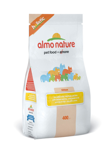 Сухой корм Almo Nature Holistic Kitten Chicken&Rice
