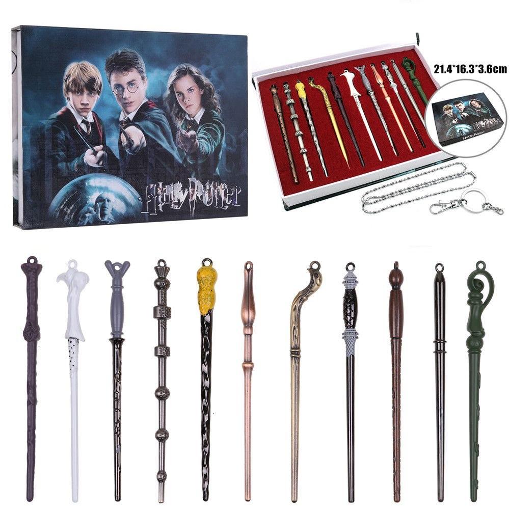Гарри Поттер набор волшебных палочек брелки и кулоны