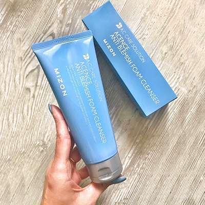 Очищающая пенка для проблемной кожи Mizon Acence Anti Blemish Foam Cleanser