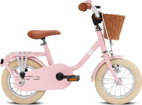 Двухколесный велосипед Puky STEEL CLASSIC 12 4118 retro pink розовый, 3+