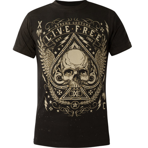 Футболка Xtreme Couture от Affliction DEUCES WILD