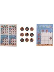Развивающая игра на запоминание SHAPES PUZZLE Подводный мир Серия Chips в жестяной коробке