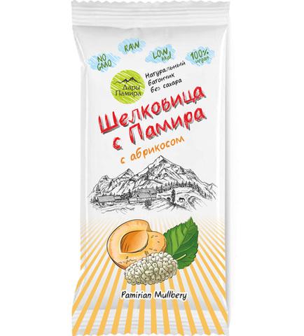 Батончик из Шелковицы с абрикосом, без сахара 20 г