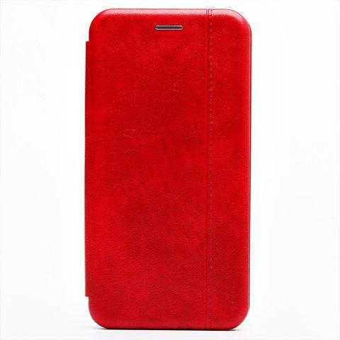 Чехол книжка для Huawei Honor 9С/P40 Lite E | магнит подставка красный