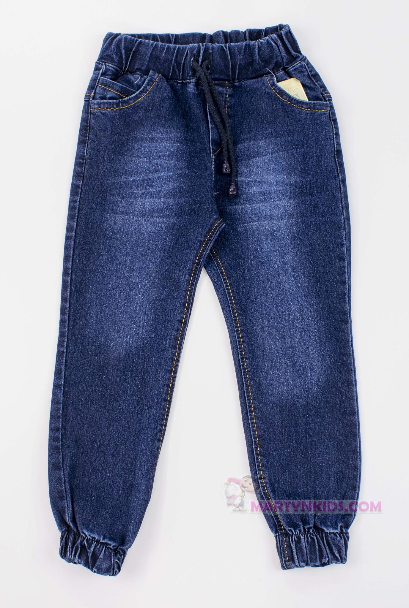 3384 джинсы-джогеры Классик  стрейч