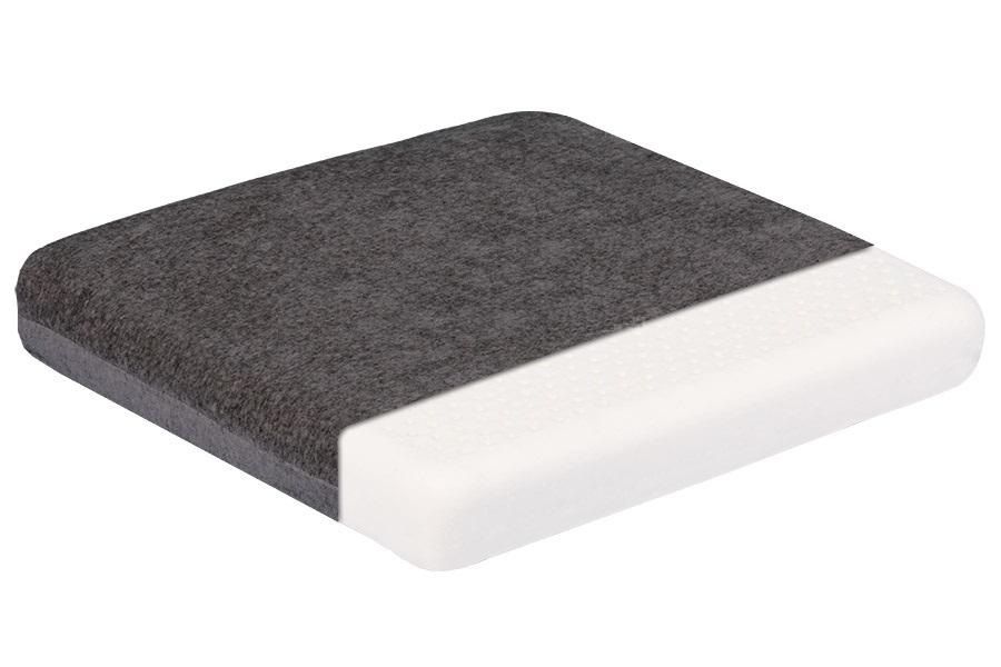Подушки на сиденье и под спину Ортопедическая подушка Тривес на сидение ТОП-207 top-207_1_.jpg