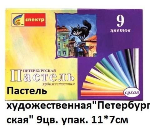 Пастель 01С-405 худ. Петербургская сухая 9 цв.