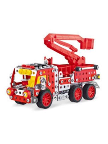 Металлический Конструктор Пожарная машина, 328 дет.