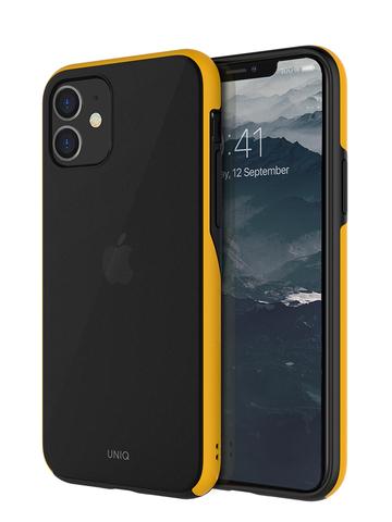 Чехол Uniq Vesto для iPhone 11 | желтый противоударные борты