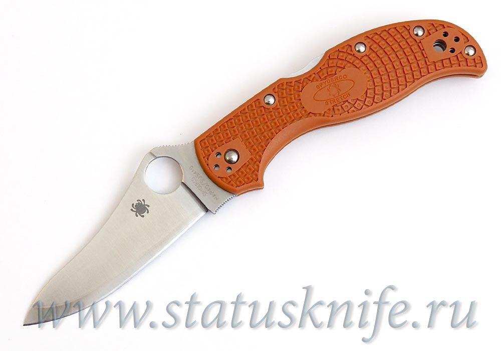 Нож Spyderco Stretch C90FPBORE Sprint Run оранжевый