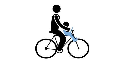 Картинка велокресло Thule Yepp Mini серое - 5