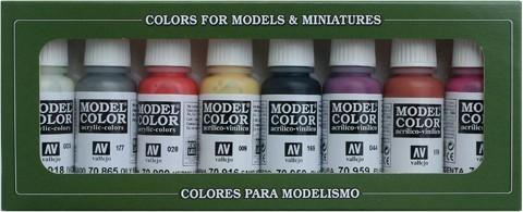 Model Color Non Dead Chaos (8) 17 ml.