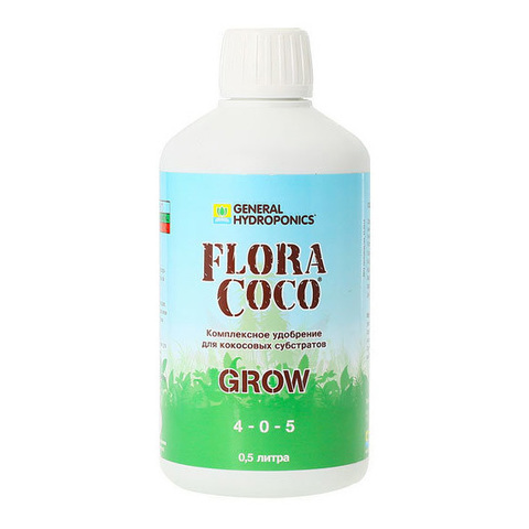 Минеральное удобрение FloraCoco Grow 0,5л