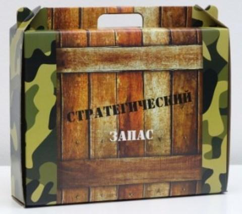 060-0080 Коробка универсальная с ручкой, полноцвет, 34,5 х 8 х 27 см