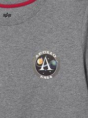 Футболка Alpha Industries Apollo II (Серая)