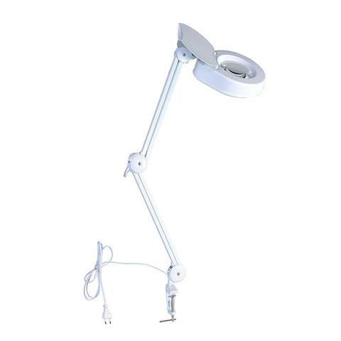 Настольная лампа-лупа с подсветкой Veber 8608D 5D , 5дптр, 120 мм