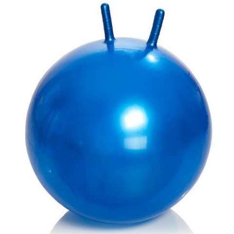 Гимнастический мяч Тривес М-365 детский с рожками, 65см