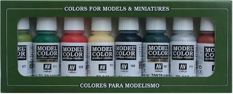 Model Color Orcs & Goblins (8) 17 ml.