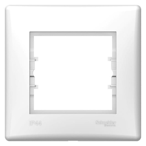 Рамка на 1 пост - IP44. Цвет Белый. Schneider Electric Sedna. SDN5810521