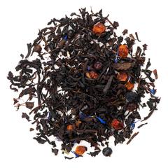 """""""Таежный чай"""" 100 гр, черный чай с ягодами"""