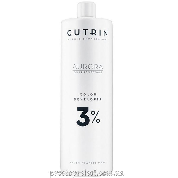 Cutrin Aurora Color Developer - Окисник для волосся 3%