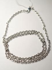 Якорь прямоугольный 0,3 (серебряная цепочка)