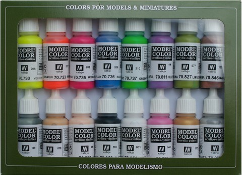 Model Color Wargame Special (16) 17 ml.